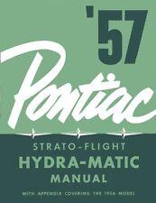 1956 1957 Pontiac Hydra-Trans Transmission Shop Service Repair Manual Hydratrans