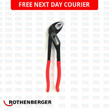 """ROTHENBERGER SPK WATER PUMP PLIERS GRIPS 10"""" 7.0522 - NEW *FREE NEXT DAY P&P*"""