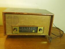 Vintage Mid Century Motorola Tabletop Tube Radio Wood Casing 120V 35 Watts