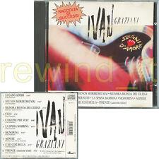 """IVAN GRAZIANI """"SEGNI D'AMORE"""" CD 1989 FUORI CATALOGO"""