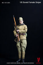 1/6 Very Cool Toys VCF-2025 WWII USSR Soviet Russian Female Sniper Action Figure