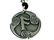 Handmade  Ansur Rune of Communication Viking Pewter Pendant Norse Talisman