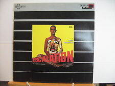 Ennio Morricone ESCALATION Original Soundtrack VINYL LP Free UK Post