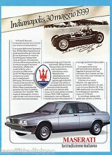 AIRONE985-PUBBLICITA'/ADVERTISING-1985- MASERATI - BITURBO 420