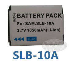 RECHARGEABLE Battery for Samsung SLB-10A P800 P1000 SL310 TL9 WB500  WB690