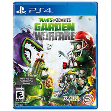 Plants vs Zombies Garden Warfare Ps4 PlayStation 4 Brand New Seald