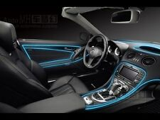 ice Blue Colour 5 Meter Interior Refit Atmosphere Car Styling EL light