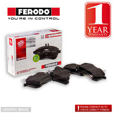 Ferodo Front Brake Pad Set Continental Teves Sys Braking VW Passat 1.6TDI 104bhp