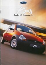 FORD KA accessori 1999-2000 ORIGINALE UK SALES BROCHURE PUB. NO. cs7591
