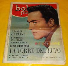 BOLERO FILM 1957 n. 538 Paolo Carlini, George Nader, Marisa Allasio, Alda Noni