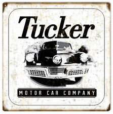 Reproduction Classic Tucker Motor Car Company Sign
