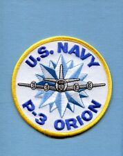 LOCKHEED P-3 ORION US NAVY VP Patrol Squadron Flight Jacket Aircraft Patch