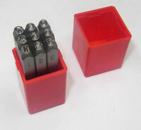 JEWELRY NUMBER STAMPS 3MM ALL JEWELLERY STAMPS