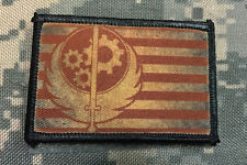 Brotherhood of Steel Flag Morale Patch Tactical Milspec Molle
