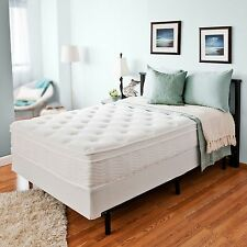 "12"" Night Therapy Euro Box Top Spring Mattress & Bi-Fold Box Spring Set - Full"