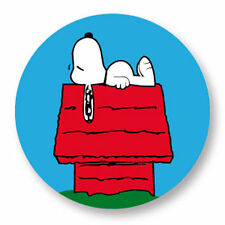 Magnet Aimant Frigo Ø38mm Snoopy Peanuts BD Dessin Animé Cartoon Comic Strip