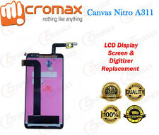Micromax Canvas Nitro A311 LCD Display Touch Screen Digitizer Assembly