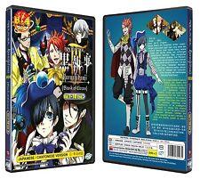 Black Butler Kuroshitsuji III : Book Of Circus Vol.1-10 End Anime DVD