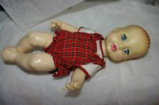 "Ideal 13"" Vinyl Tiny Tears Doll 1971 marked tnt-14-8-34"