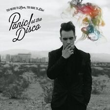 PANIC AT THE DISCO TOO WIERD TO LIVE TO RARE TO DIE CD NEW