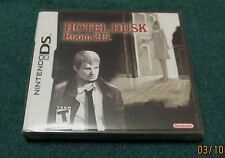 Nintendo DS - Hotel Dusk: Room 215 ~ Brand New Factory Sealed Game ~