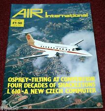 Air International 1989 May Shackleton,Philippines,Let 610,He112