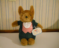 "New with TAGS Eden Mr Tod Fox plush stuffed 11"" Beatrix Potter Peter Rabbit"