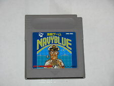 Navy Blue Game Boy GB Japan import cartridge only