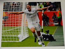 ABBY WAMBACH AUTOGRAPHED USA WOMENS SOCCER SIGNED WORLD CUP 2015 USA PROOF