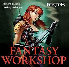 Fantasy Workshop: Mastering Digital Painting Techniques (ImagineFX) by ImagineF