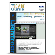 New! Adobe Photoshop Lightroom 5 video tutorial training on 2 DVDs 9 hours