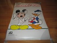 1988 DOC MICKEY MOUSE & DONALD DUCK Walt Disney POSTER