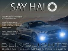 Angel Eye Fog Lamps Halo Driving Lights for 2015 2016 2017 Ford Mustang