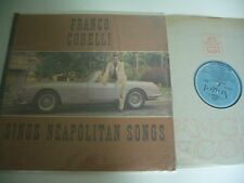 FRANCO CORELLI SINGS NEAPOLITAN SONGS LP ANGEL 35852.  CAR COVER.