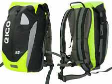 NEW EIGO CYCLE BACKPACK RUCKSACK WATERPROOF 30L FLUORO - CYCLING MTB ROAD BIKE