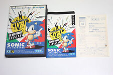 SEGA  SONIC THE HEDGEHOG 1 for MEGA DRIVE