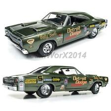 AUTOWORLD AW234 1969 Dodge Super Bee (Wally Booth) Diecast Car 1:18 NEW!