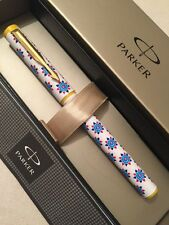 NEW PARKER BETA SPECIAL EDITION BALLPOINT PEN-BLUE INK-GIFT BOX