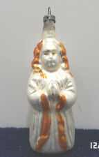 Antique Mercury Glass Christmas Tree Ornament Angel Germany