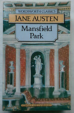 JANE AUSTEN.MANSFIELD PARK.COMPLETE UNABRIDGED.S/B 1992,WORDSWORTH CLASSICS