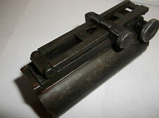 Antique 1903 Springfield Rifle Rear Ladder Sight & Band Collar Mount