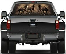 Horse, Horses  Rear Window Graphic Decal for  Truck