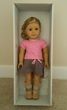 NEW! American Girl Doll # 56 MyAG Blue Eyes/Blond Short Curly hair/Freckles.