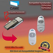 CAME TOP432NA,CAME TOP434NA Ersatz für Handsender der Fernbedienung, 433.92Mhz