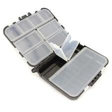 Portable 26 Slots Waterproof Fishing Fish Lure Tackle Hook Bait Storage Box Case
