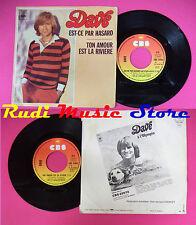 LP 45 7'' DAVE Est-ce par hasard Ton amour est la riviere france no cd mc dvd
