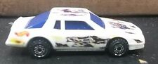 HOT WHEELS MONTE CARLO 1988 WHITE W/ SKULL DECAL