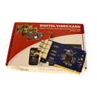 New PCI DVR 4CH Channel Security Camera Video Capture Card
