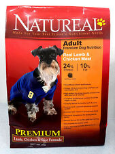 FREE 1KG WITH PURCHASE OF 3KG NATUREAL ADULT PREMIUM DOG FOOD - LAMB & RICE
