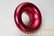76mm 3 inches Alloy Red Air Inlet Intake Ram Pipe Funnel Ducting Duct